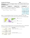 Coordinate Grid Distances (Pythagorean Theorem) - 8.G.8