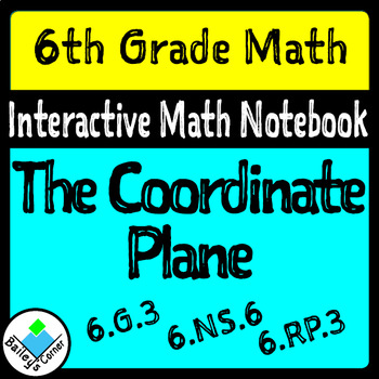 Coordinate Grid Foldable for Interactive Notebook