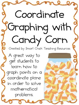 Coordinate Grid Graphing with Candy Corn ~ Halloween/Fall Math