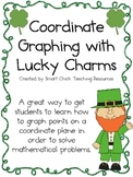 Coordinate Grid Graphing with Lucky Charms Cereal ~ St. Patrick's Day