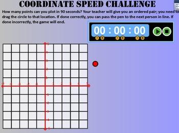 Coordinate Grid Linear Equation Battleship