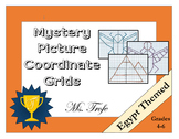Coordinate Grid Mystery Picture: Egypt Theme