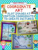 DIGITAL - Coordinate Grid Number Line Art Activity - Distance Learning