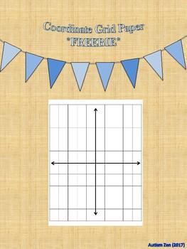 Coordinate Grid Paper