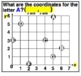 Coordinate Grid Practice Cards & Worksheets