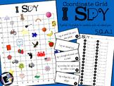 Coordinate Grid Practice - I SPY