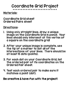 Coordinate Grid Project