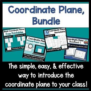 Coordinate Grids Quadrant 1 Worksheets Teaching Resources