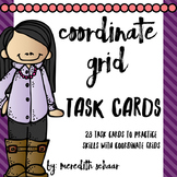 Coordinate Grid Task Cards