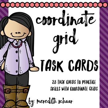Coordinate Grid Task Cards