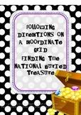 Coordinate Grid Treasure Map:  The National Buried Treasure Activities