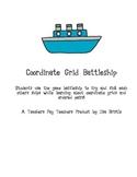 Coordinate Grids BattleShip Game