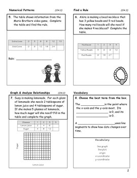 Coordinate Grids and Graphing - 5th Grade