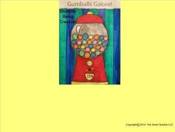 Coordinate Plane Pictures (Gumball Machine)