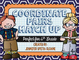 Coordinate Pair Graphing Task Card Match Up