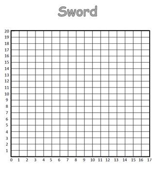 Coordinate Pictures Minecraft Sword