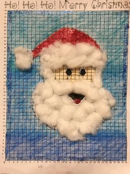 Coordinate Pictures Santa Claus