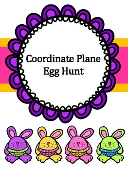 Coordinate Plane (Graphing) Egg Hunt