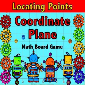 Coordinate Plane Activity: Coordinate Planes Game {5.G.1, 5.G.2, 5.OA.3}