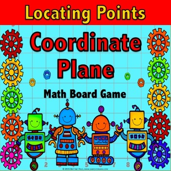 Coordinate Plane Activity: A Locating Points on the Coordi