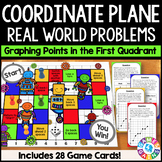 Coordinate Plane Activity: Real World Problems on the Coordinate Plane {5.G.2}