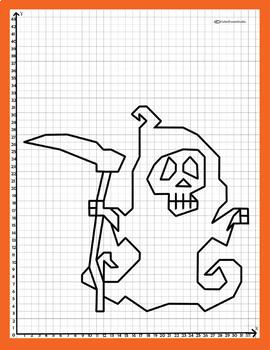 Coordinate Plane - 1st Quadrant: Ghost