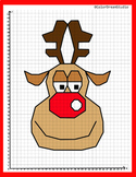 Coordinate Graphing Picture:Reindeer