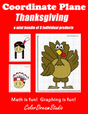 Coordinate Graphing Picture: Thanksgiving Bundle