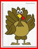 Coordinate Graphing Picture: Turkey