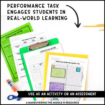 Coordinate Plane Activity Bundle