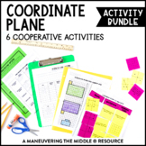 Coordinate Plane Activity Bundle