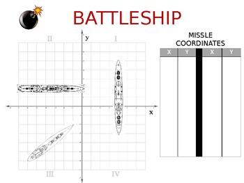Coordinate Plane Battleship!