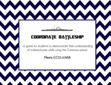 Coordinate Plane Battleship CCSS