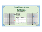 Coordinate Plane Battleship Game