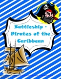 Coordinate Plane Battleship - Pirates of the Caribbean