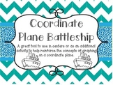 Coordinate Plane Battleship - Using Ordered Pairs
