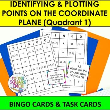 Coordinate Plane Bingo