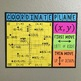 Coordinate Plane Bulletin Board Poster & Foldable Bundle - Math Classroom Decor