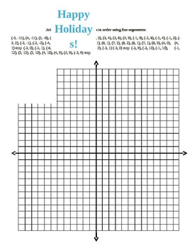 Coordinate Plane Connect the Dots