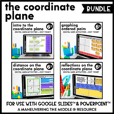 Coordinate Plane Digital Math Activity Bundle | 6th Grade