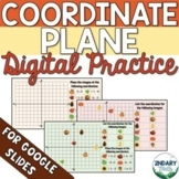 Fall-Themed Coordinate Plane Digital Practice for Distance
