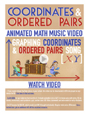 Coordinate Plane | FREE Math Poster, Worksheet & Fun Video | 4th-5th Grade