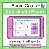 Coordinate Plane First Quadrant Digital Interactive Boom C