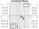 Coordinate Plane Interactive Journal Page