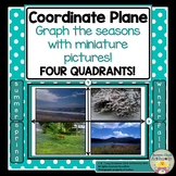 Coordinate Plane - Four Quadrants - Graph the Seasons!