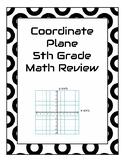 Coordinate Plane Game - 5th Grade Math Review for PARCC, M