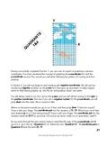Coordinate Plane Graph Art - Graphing Negatives using Quadrants 1 & 4