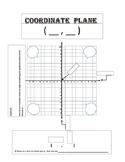 Coordinate Plane Graphic Organizer