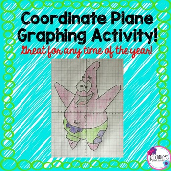 Coordinate Graphing Picture Great for anytime of the year