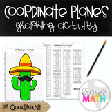 Coordinate Plane Graphing Activity: CINCO DE MAYO CACTUS! (1st Quadrant)